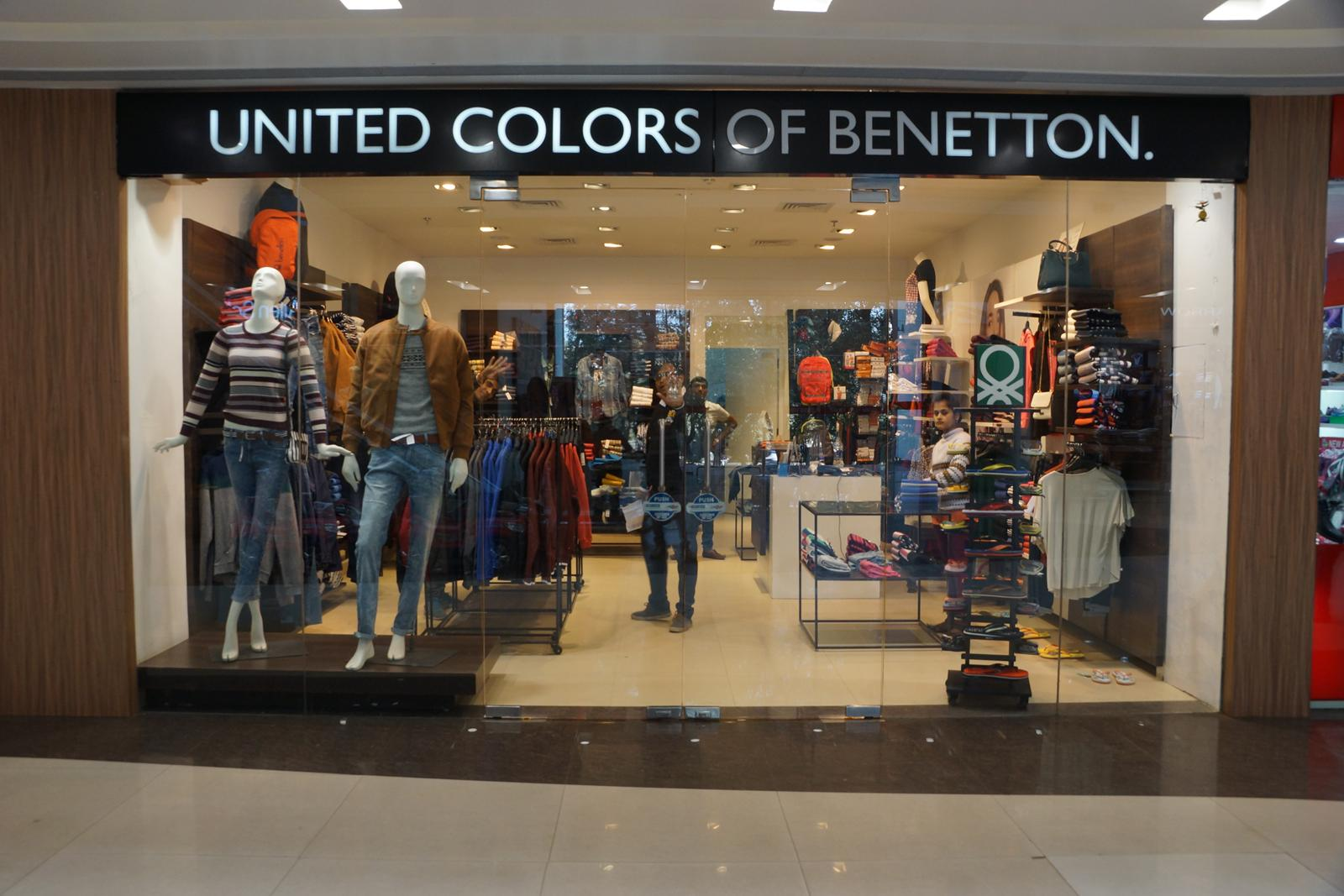 United colors of benetton bokaro mall for Benetton we are colors